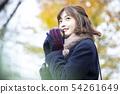 Scarf coat woman winter 54261649