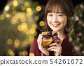 크리스마스 선물 여성 54261672