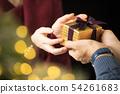 圣诞礼物妇女 54261683