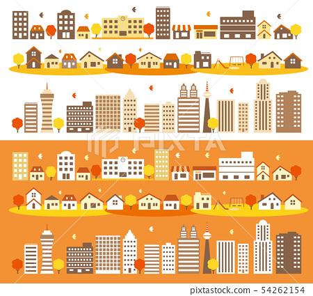 城鎮,房屋和建築 54262154