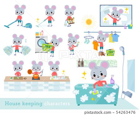 老鼠 孩子 兒童 54263476