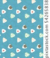 Rice ball pattern 54265838