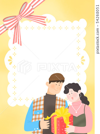 Spring is season of love, vector design concept for loving 004 54268051