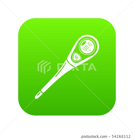 Diagnostic thermometer icon, simple style 54268112