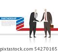 businessmen shake hand for business partnership 54270165