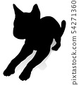 Cat Pet Animal Silhouette 54271360