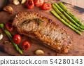 Grilled Beef sirloin steak. 54280143