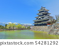 [Nagano Prefecture] Matsumoto Castle in the Northern Alps and in full bloom 54281292