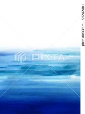 수채화 풍의 일본식 디자인 54282801