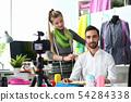 Fashion Creation Internet Blog Recording Concept 54284338