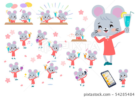 鼠標 女生 女 54285484