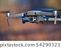 Drone flying outdoors 54290323