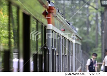 Hakone Tozan Railway Type 100 train [2019] [Kanagawa Prefecture] 54290402