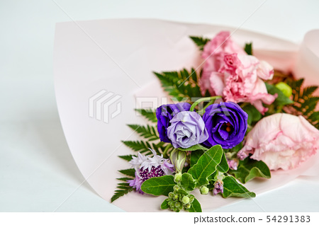 꽃다발,장미, 카네이션 54291383