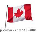 캐나다 국기 이미지 54294081