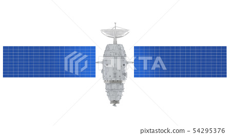 Satellite dish with antenna 54295376