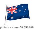 호주 국기 이미지 54296566