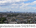 요코하마에서 바라본 도쿄 풍경 54297445