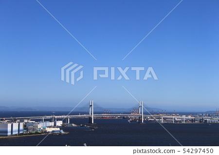 橫濱灣大橋遙遠的看法 54297450