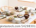 廚房,生活餐飲,餐桌形象 54298301