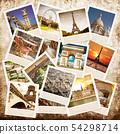 collage of images of Paris 54298714