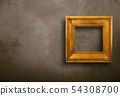 old frame hanging on wall 54308700