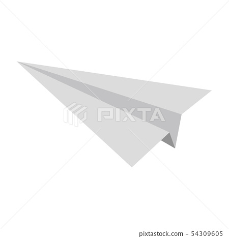 Paper airplane 54309605