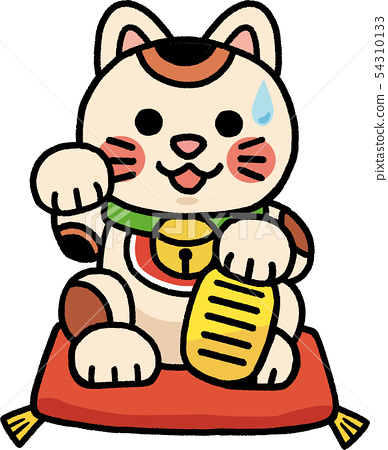 召喚貓坐墊子 54310133