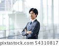 男性企业形象 54310817