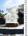 Famous hot spring well in Raksa Warin public park, 54311742
