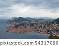 Dubrovnik in Croatia 54317090