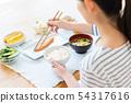 年輕的女士(餐) 54317616