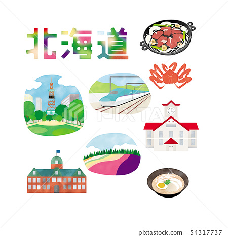 北海道圖像素材 54317737