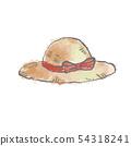 草帽例證 54318241