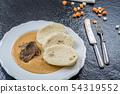 Czech Beef tenderloin and cream sauce 54319552