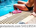 Girl in summer 54319554