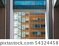 modern architecture, building exterior, real 54324458
