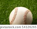 Rigid baseball ball 54326265