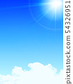 Blue Sky and the Sun 54326951