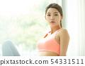 女性運動健康 54331511