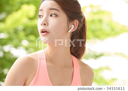 여성 스포츠 건강 54331611