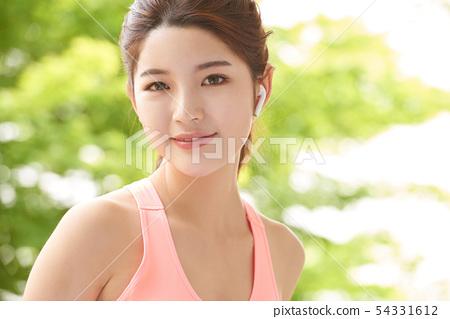 女性運動健康 54331612
