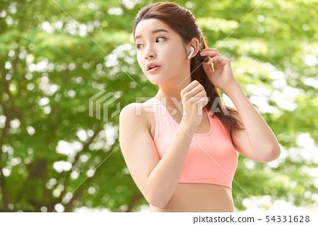 여성 스포츠 건강 54331628