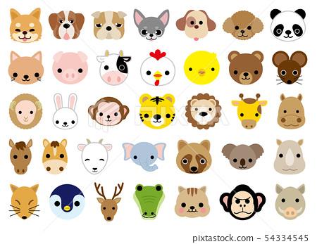 動物圖標集 54334545