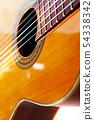 Spanish guitar detail 54338342