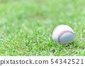 Baseball image ball 54342521