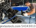 Aluminum boat repairman, for fishing 54343013