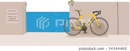 제방 및 도로 자전거 1 54344468