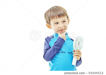 유아,어린이,키즈,수영복,휴가,휴식,바캉스,여름휴가 54344513