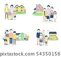 4 가족과 집 1 핑크 54350156
